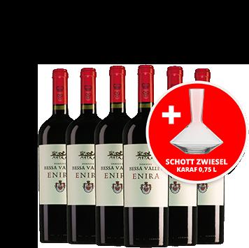 wijn afl. 26 - enira wijnpakket mét karaf